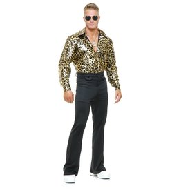 Charades Leopard Disco Shirt