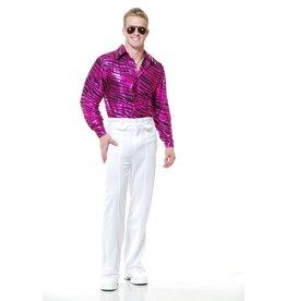 Charades Zebra Fuchsia Disco Shirt