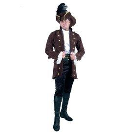 Charades Pirate Coat Brown