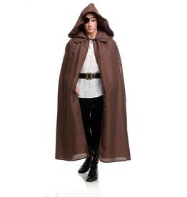 Charades Burlap Cloak Brown