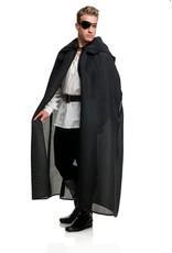 Charades Burlap Cloak Black