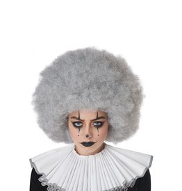 California Costume Jumbo Clown Gray Wig