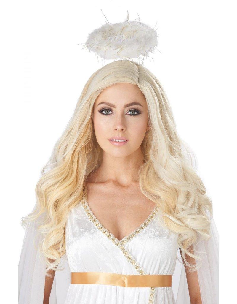 California Costume Golden Angel Blonde Wig