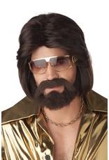 California Costume Sexy 70's Man Wig