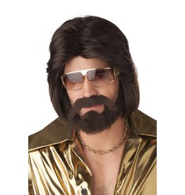 California Costume Sexy 70's Man Wig