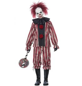 California Costume Nightmare Clown Adult
