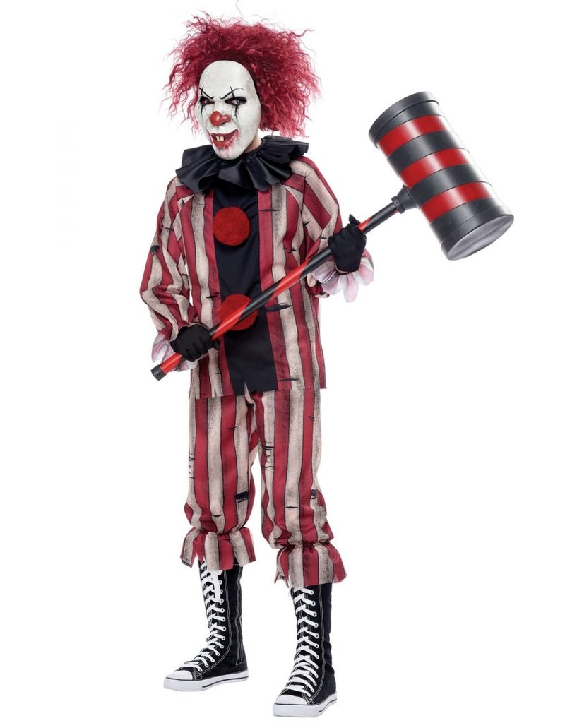 California Costume Nightmare Clown