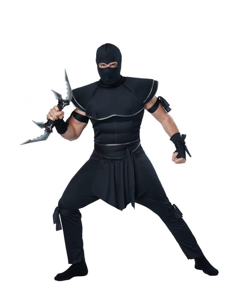 California Costume Stealth Ninja Adult