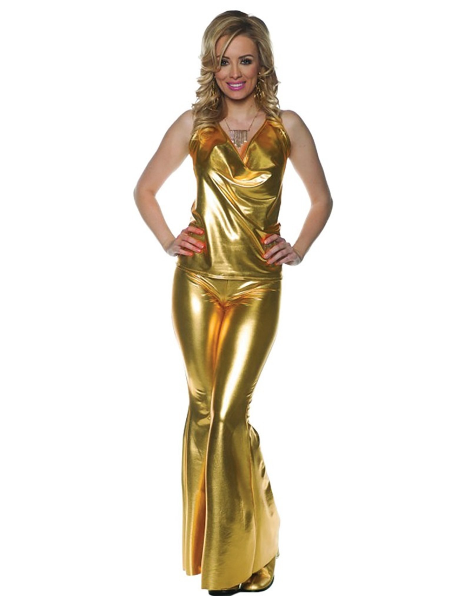 Underwraps Ladies Night Gold Disco Girl
