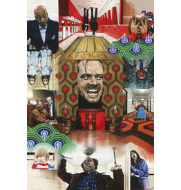 Posters Wholesale Poster - The Shining Montage