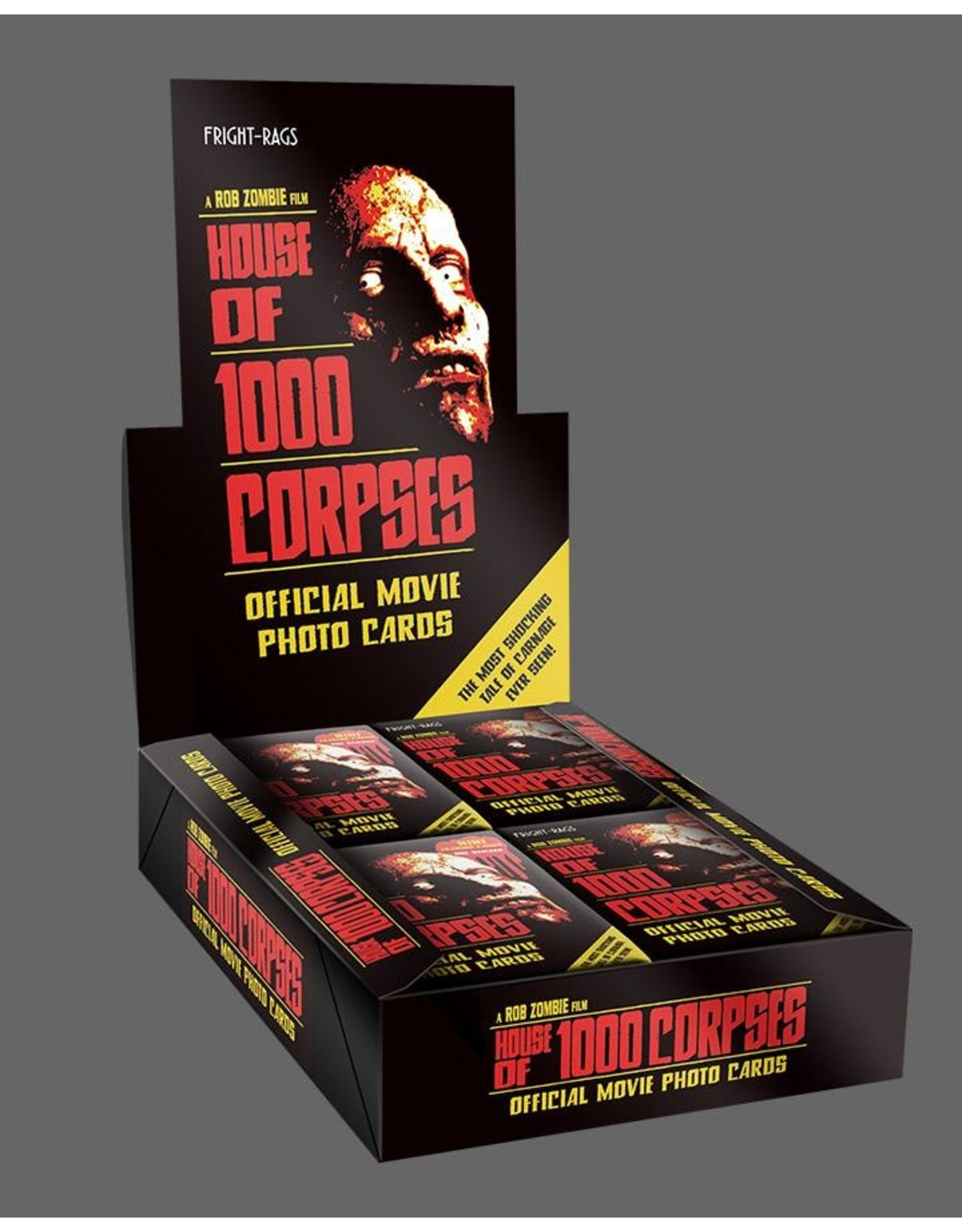 Fright Rags House of 1000 Corpses Trading Cards