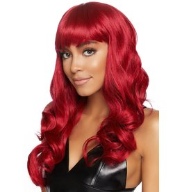 Leg Avenue Misfit Wig Red