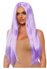 Leg Avenue Long Straight Wig Lavender