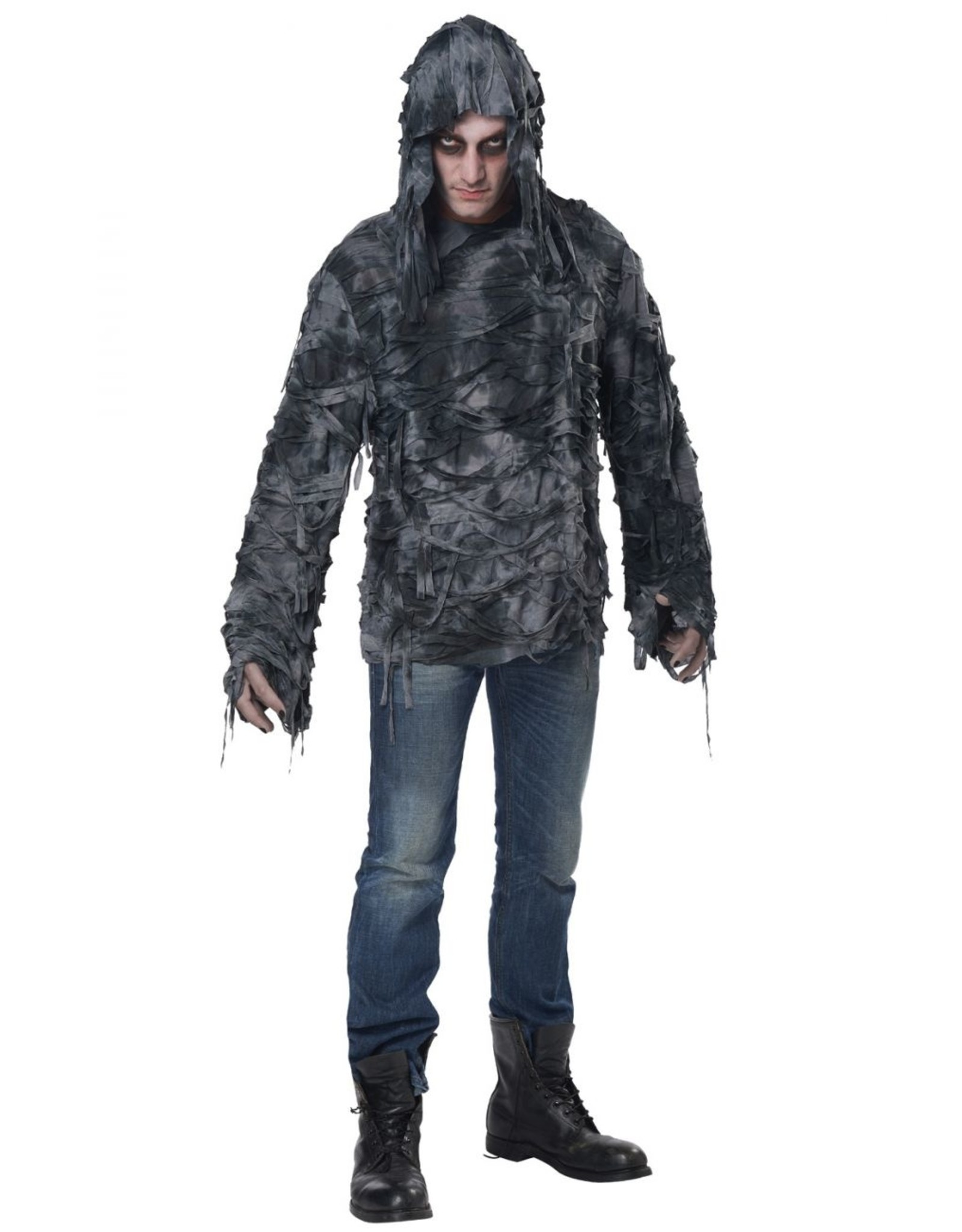 California Costume Zombie Hoodie Adult