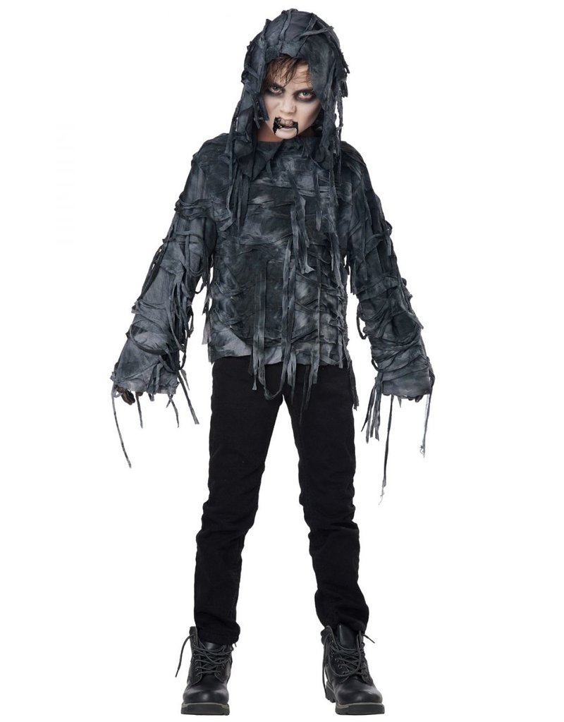 California Costume Zombie Hoodie Child