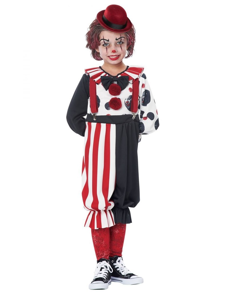 California Costume Kreepy Klown Toddler (4-6)