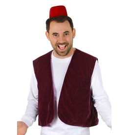 Elope Aladdin Fez & Vest