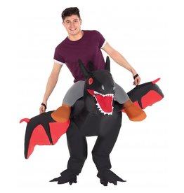 Morphsuits Ride on Dragon Black