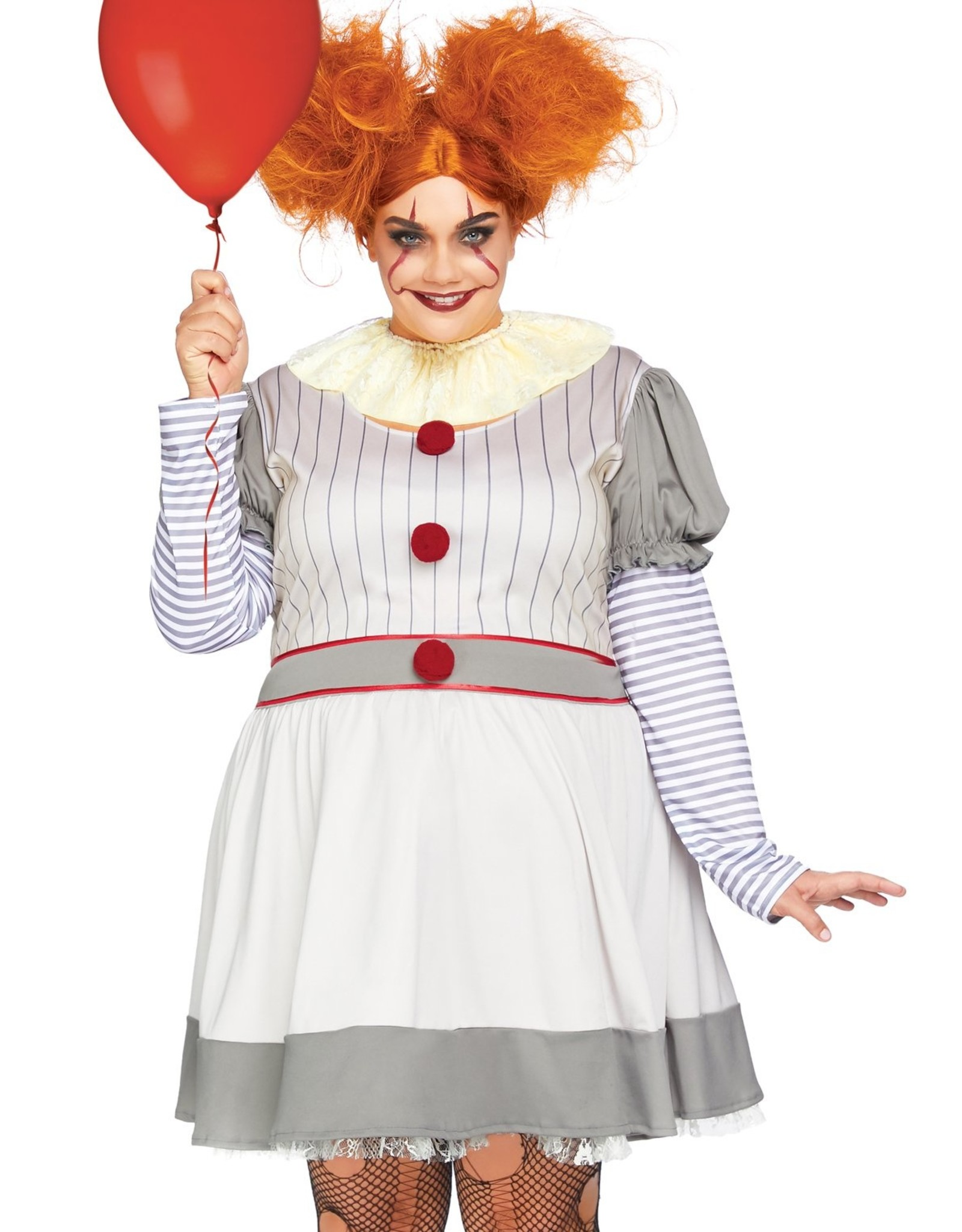 Leg Avenue Creepy Clown 1X/2X