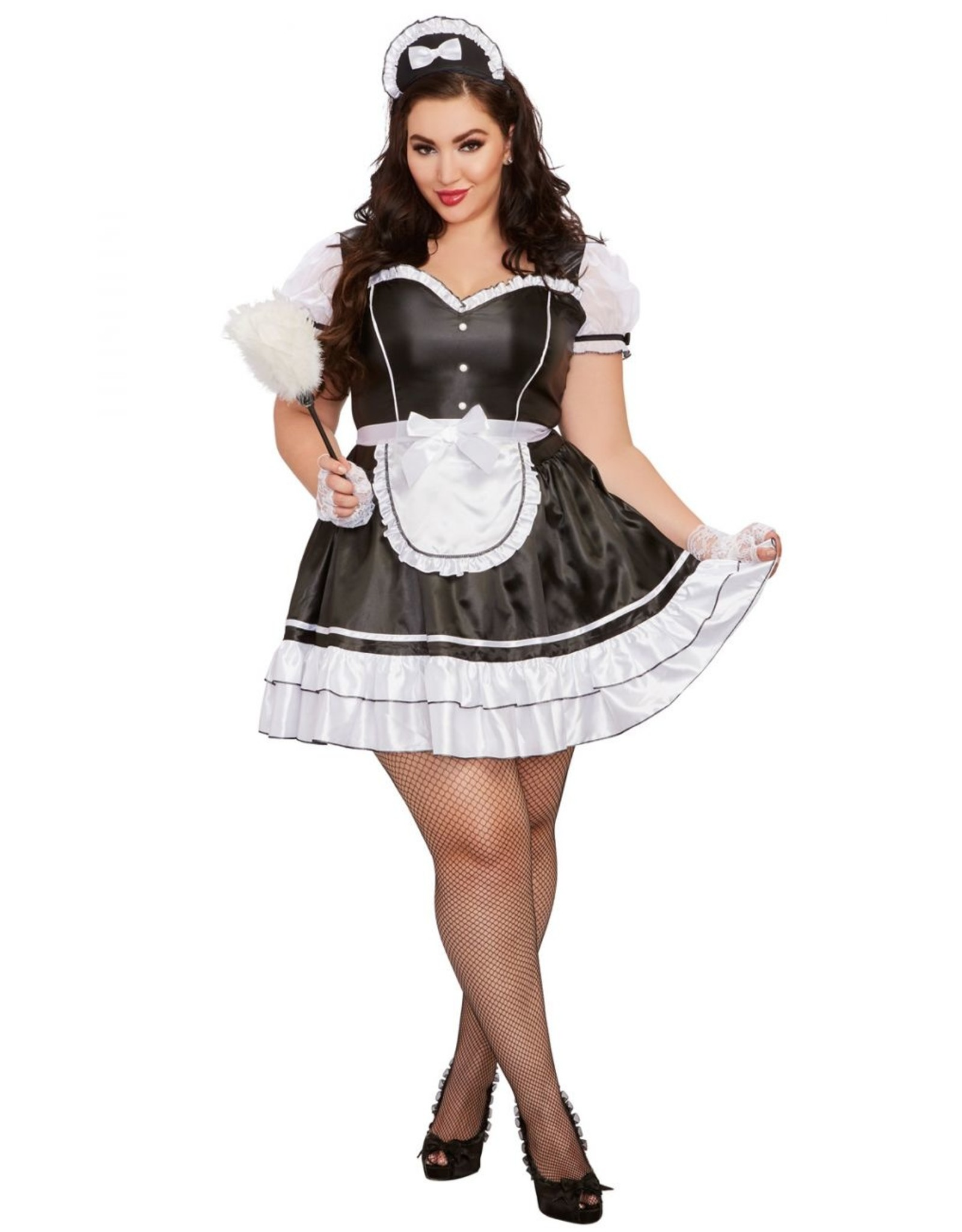 Dreamgirl Keep it Clean French Maid Plus