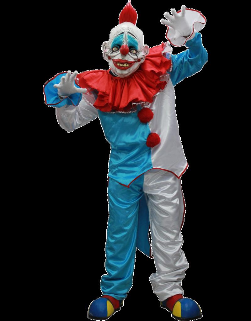 Ghoulish Dummy Clown Mask