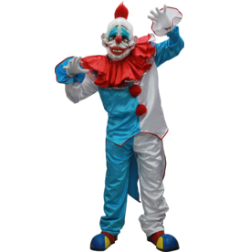 Ghoulish Dummy Clown Costume