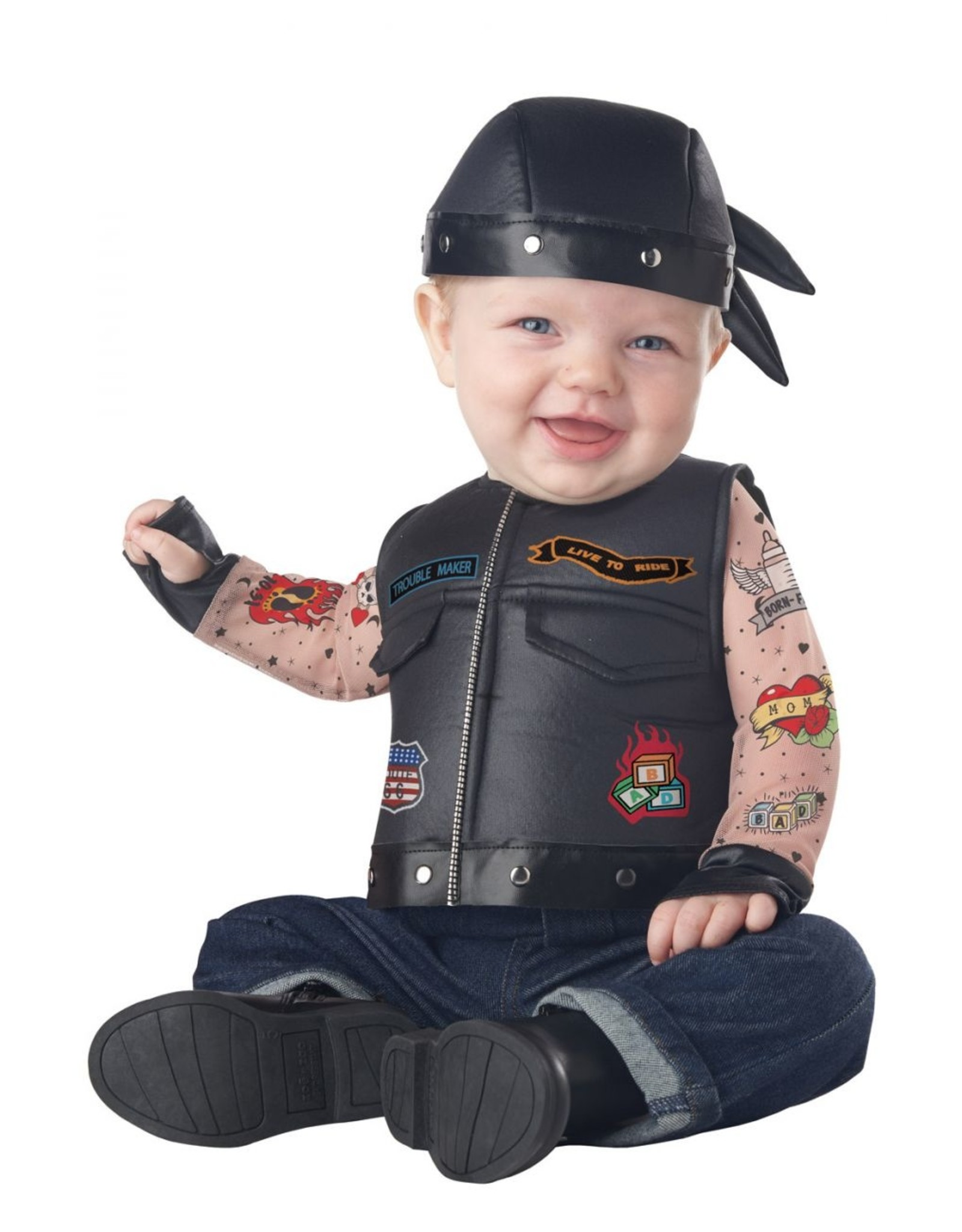 California Costume Born to Ride Baby