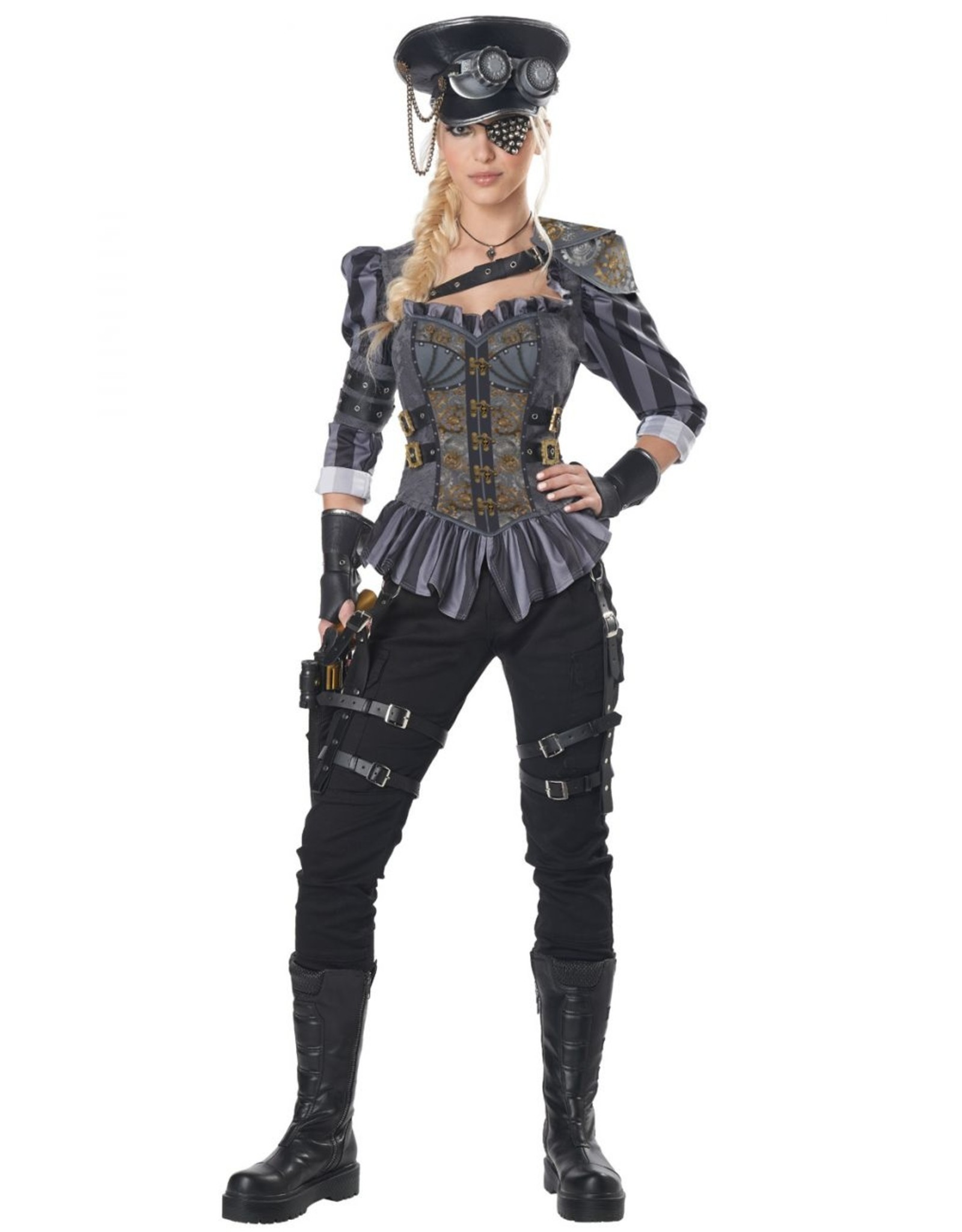 California Costume Steampunk Captain