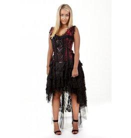 Burleska Ophelie Dress Red King Brocade