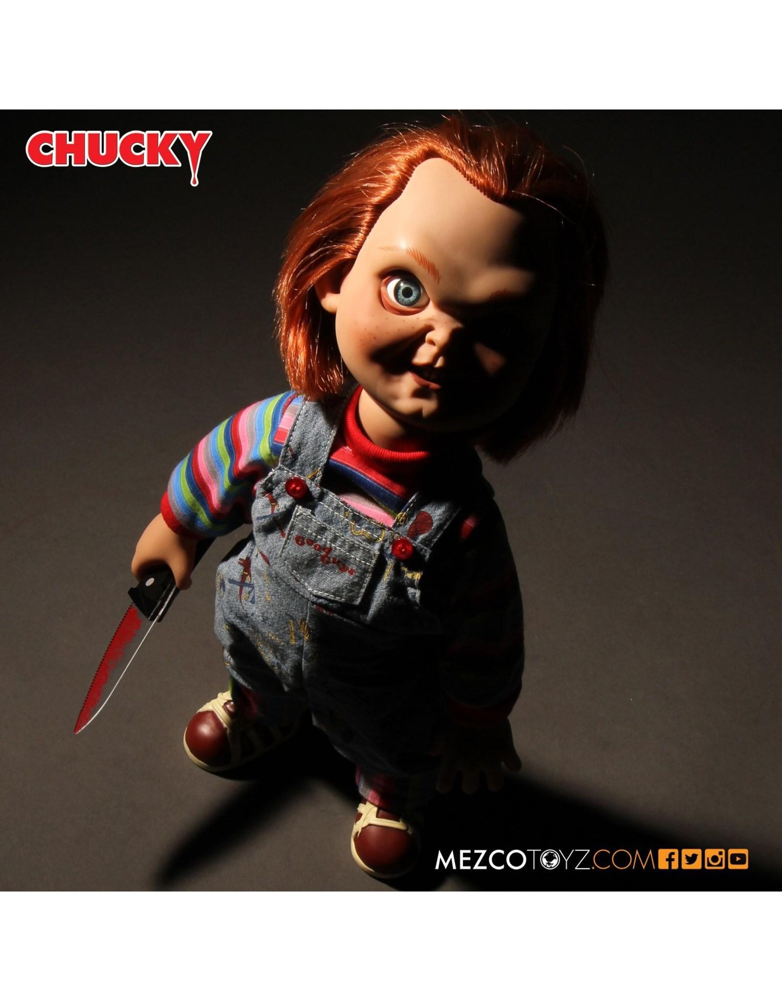 Mezco Talking Sneering Chucky Doll