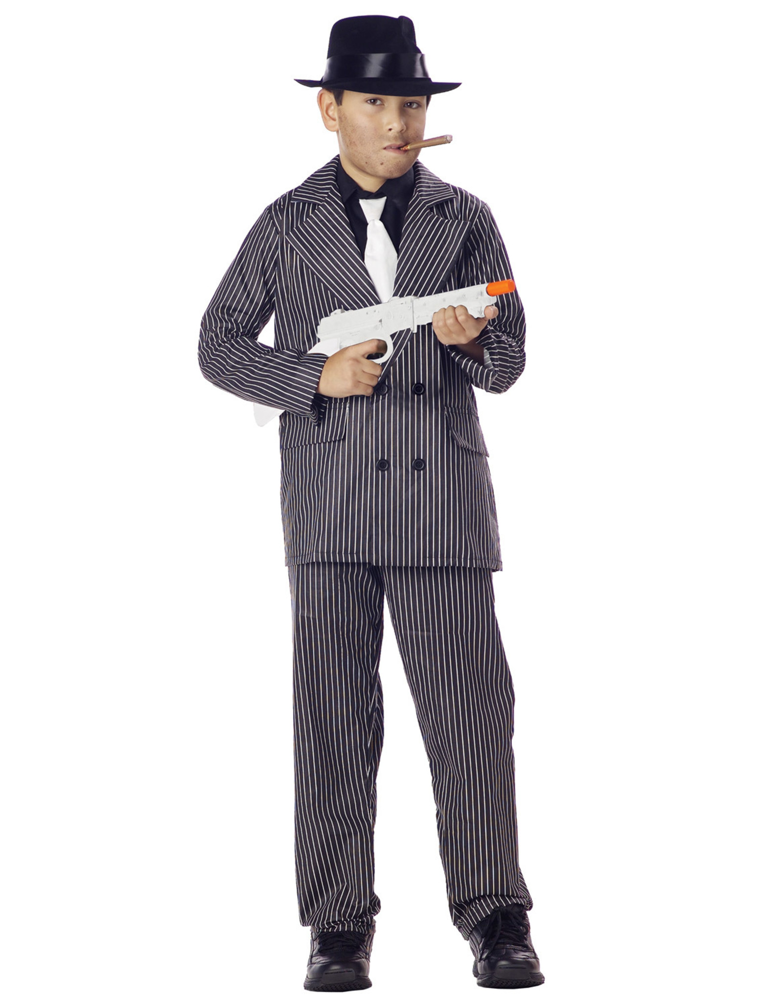 California Costume Gangster Suit Child