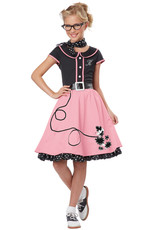 California Costume 50's Sweetheart Pink