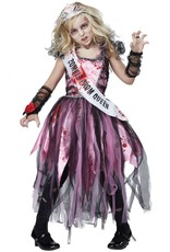 California Costume Zombie Prom Queen