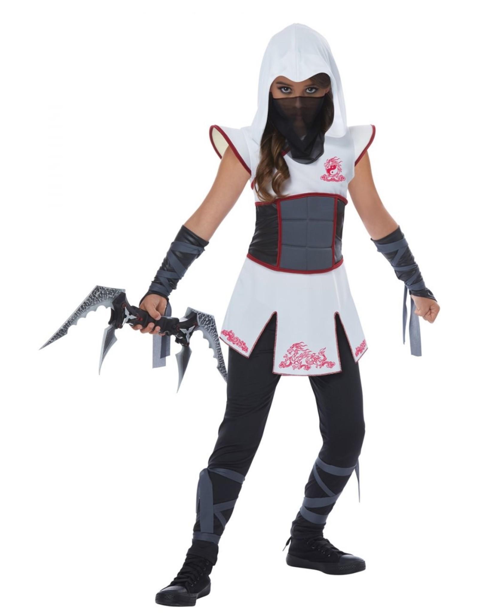 California Costume Fearless Ninja White