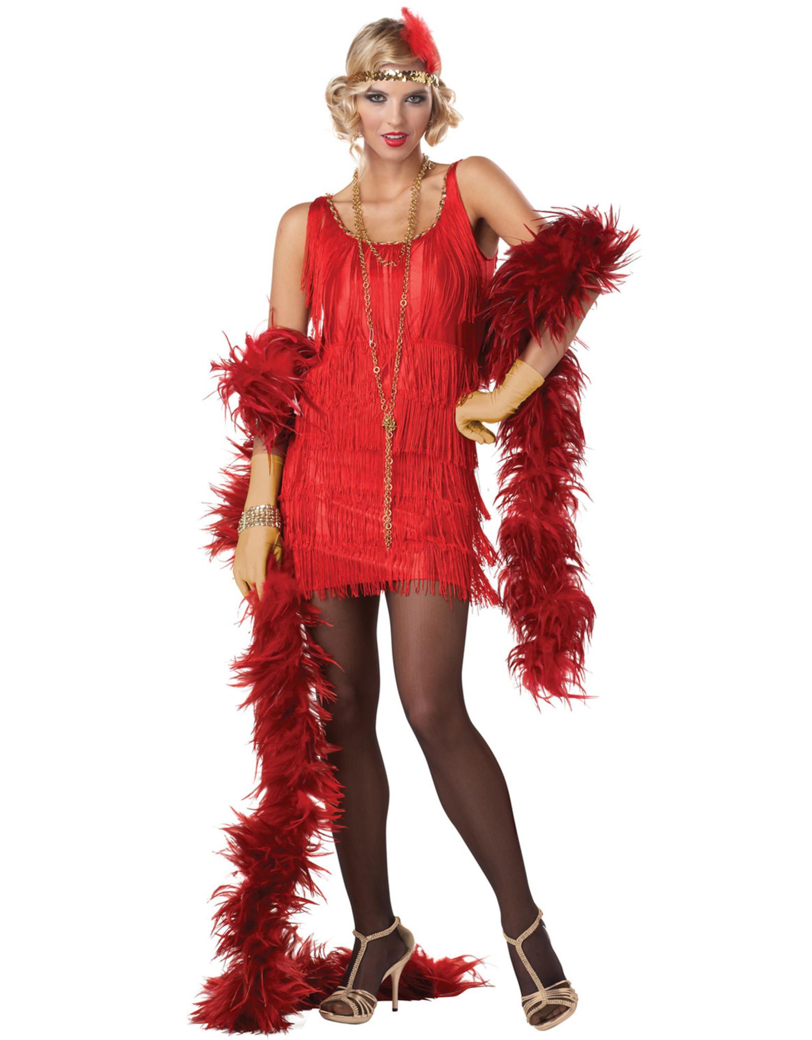 California Costume Flapper Red