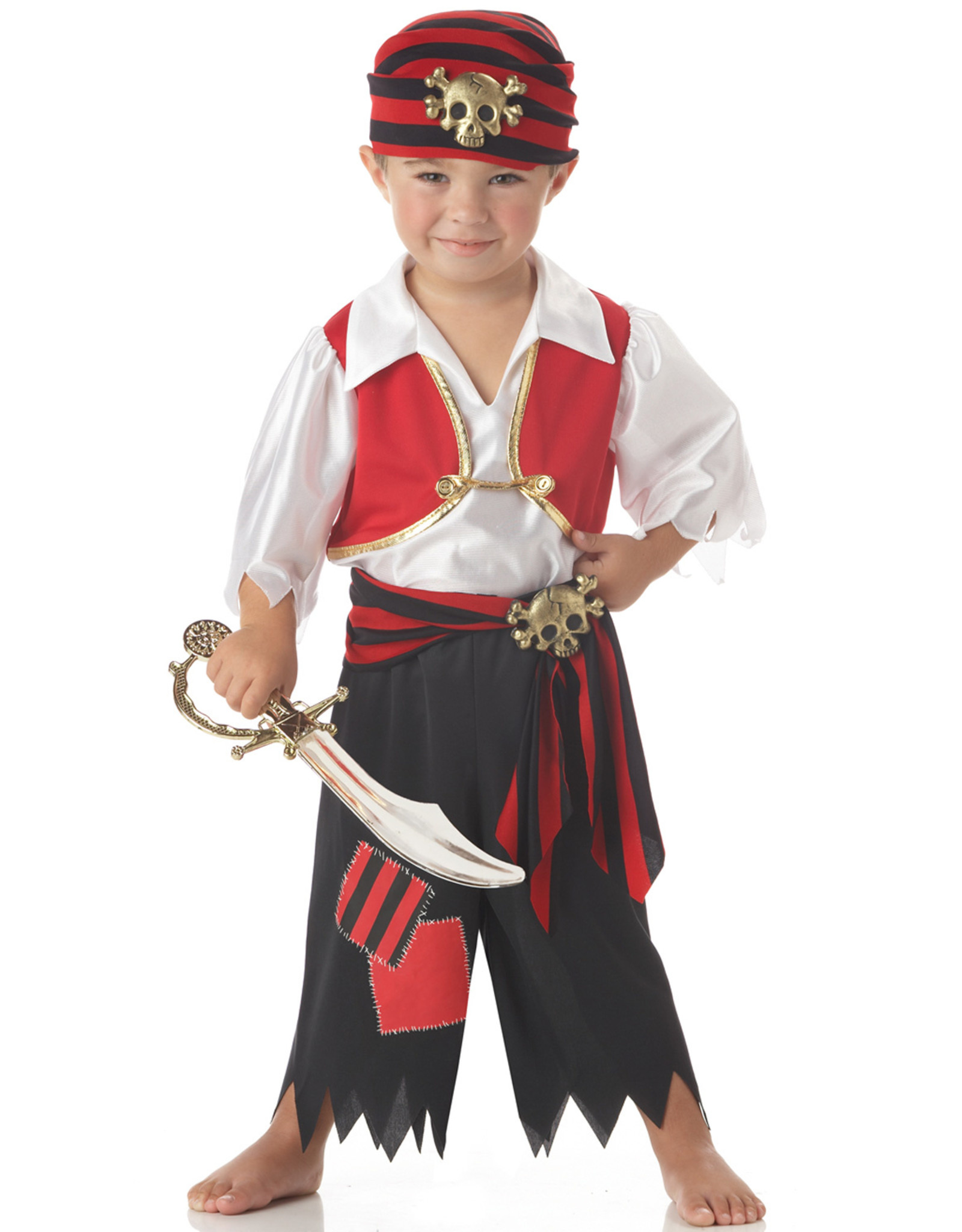 California Costume Ahoy Matey Toddler Pirate Costume