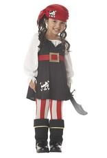 California Costume Precious Lil Pirate Toddler Costume