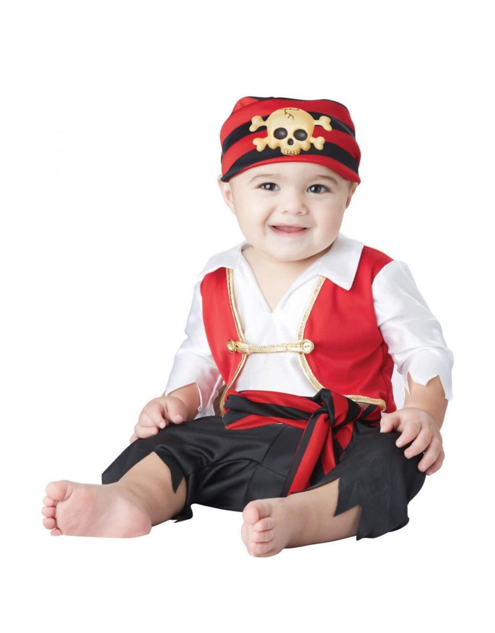 California Costume Pee Wee Pirate Baby Costume