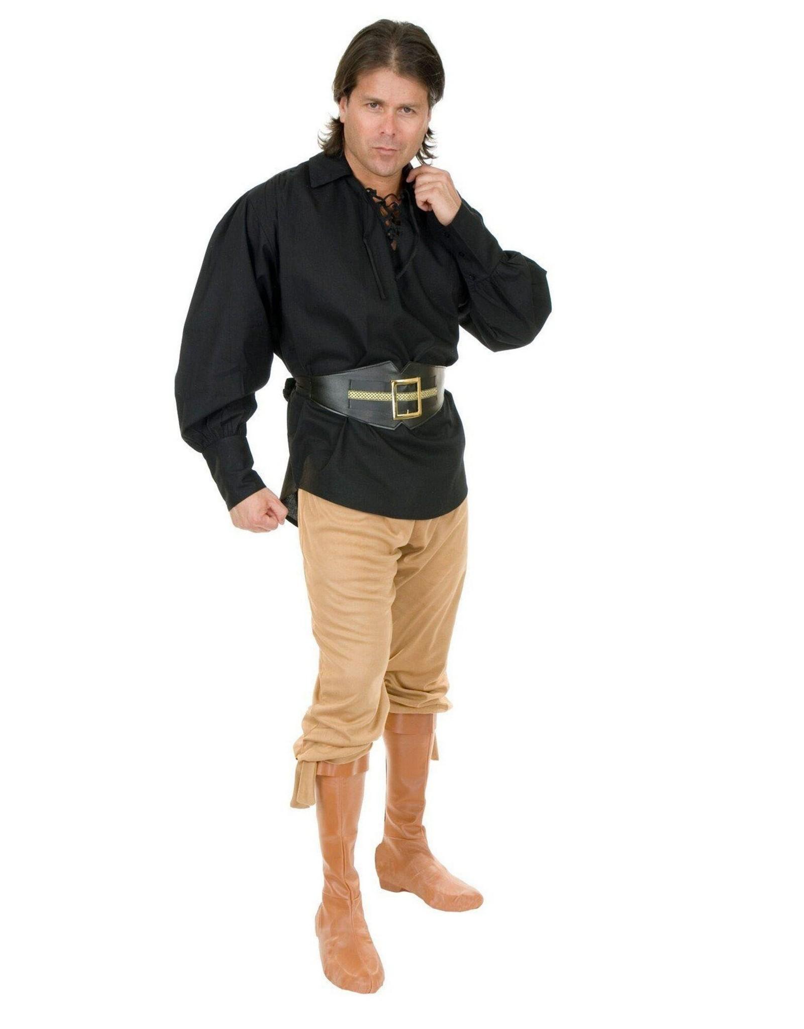 Charades Pirate Shirt Black