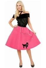 Charades Poodle Skirt Fuchsia