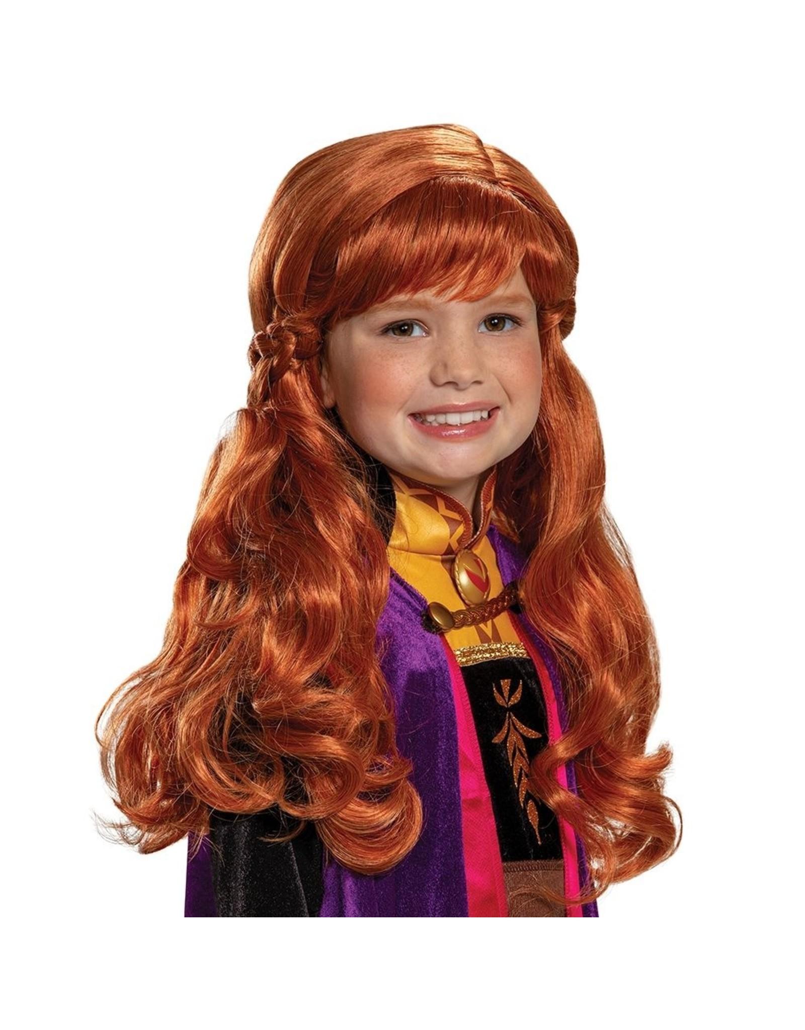 Disguise Frozen 2 Anna Child Wig