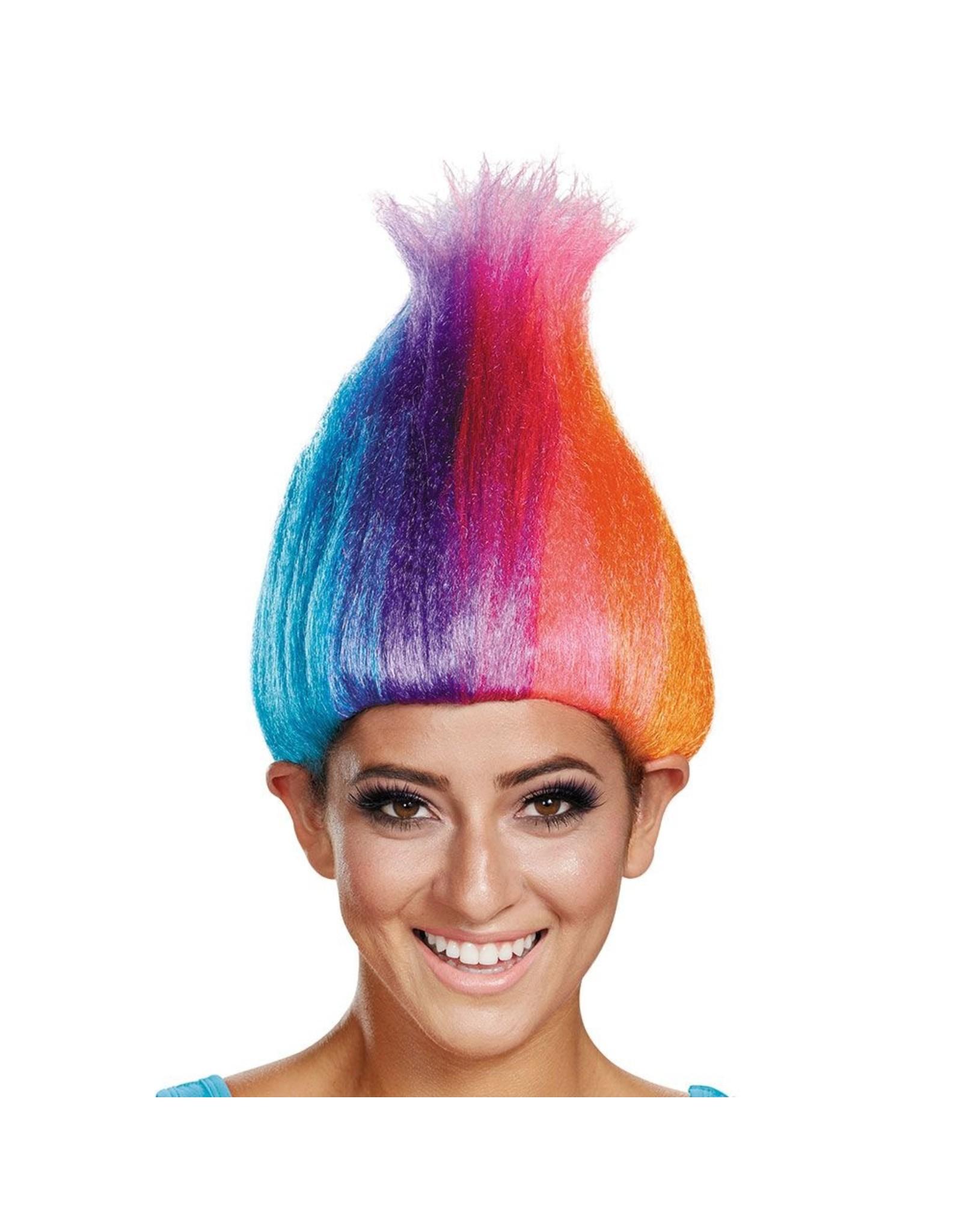Disguise Trolls Rainbow Wig