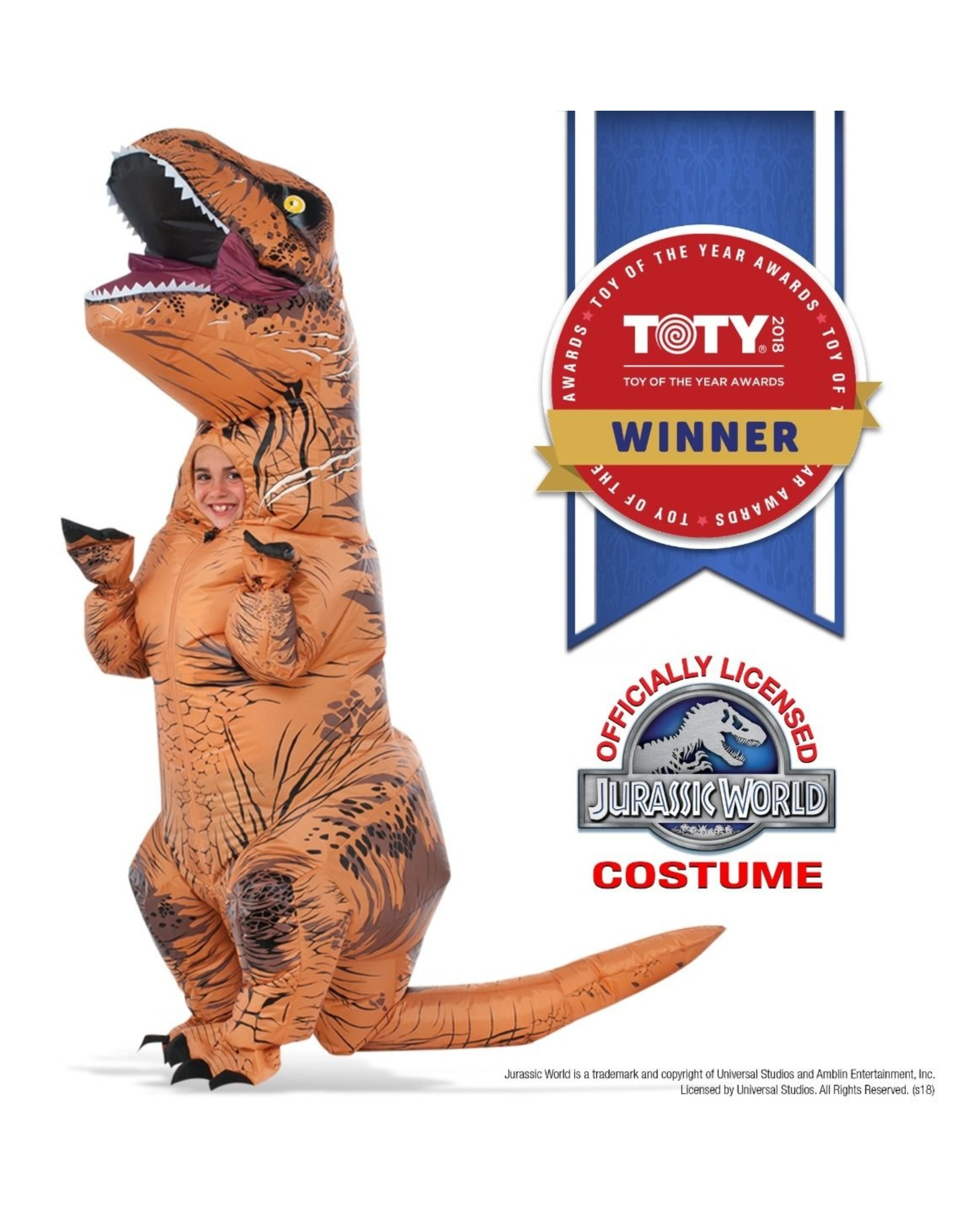 Rubies T-Rex Inflatable Child