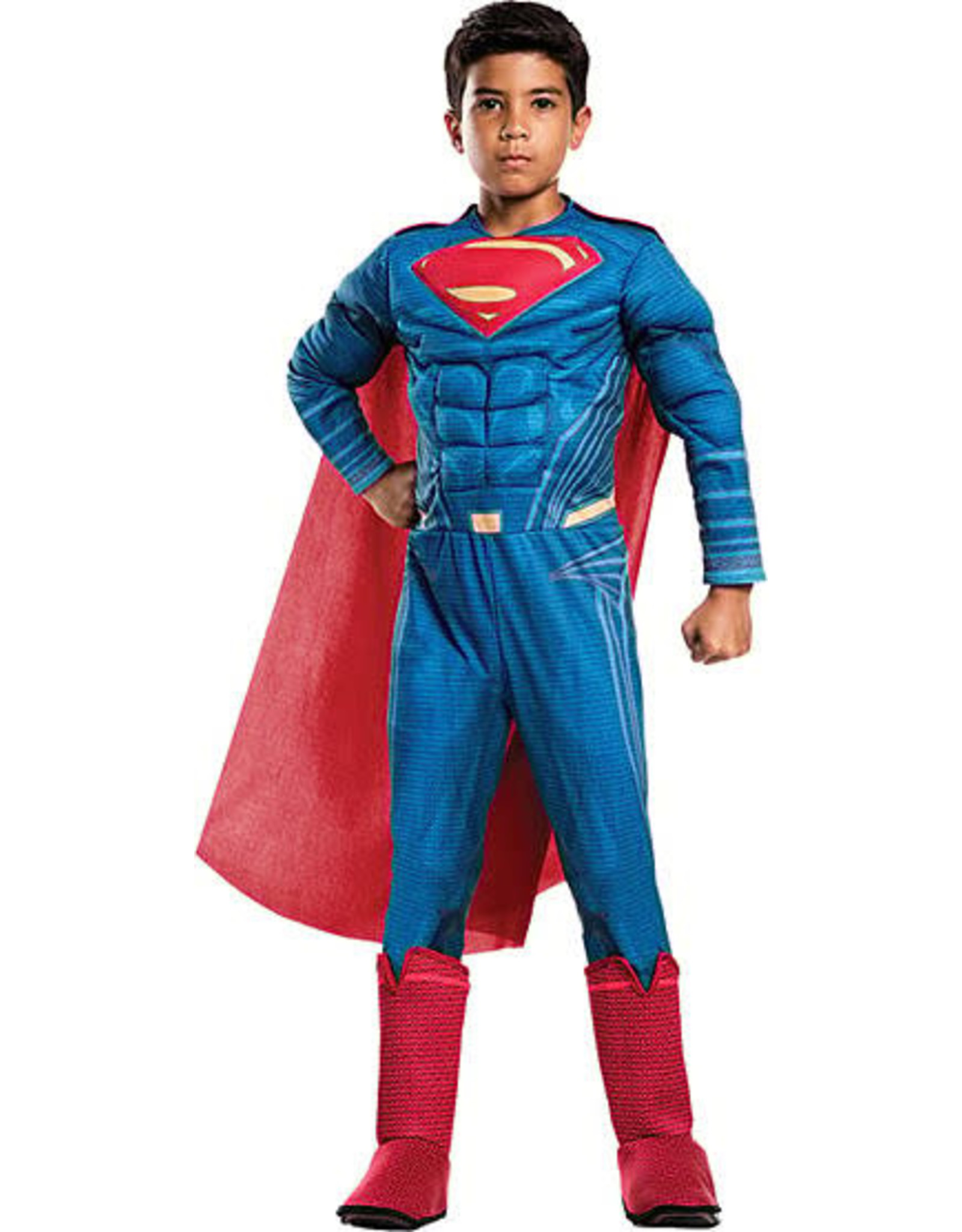 Rubies Justice League Superman Deluxe Kids Costume