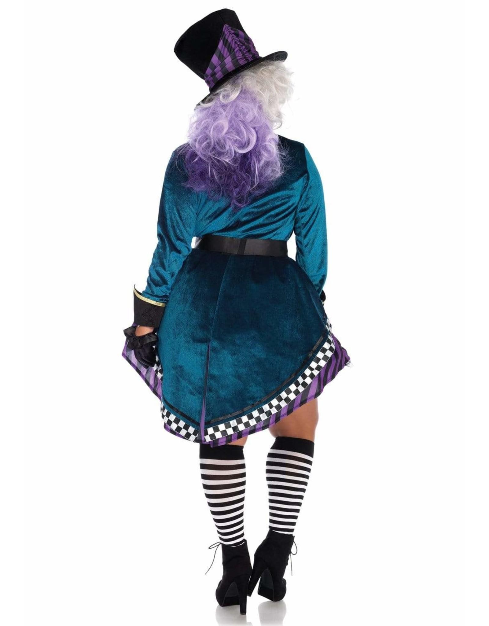 Leg Avenue Delightful Hatter Plus 1X-2X
