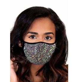 Leg Avenue Zuri Rhinestone Face Mask