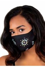 Leg Avenue Fleur Rhinestone Face Mask