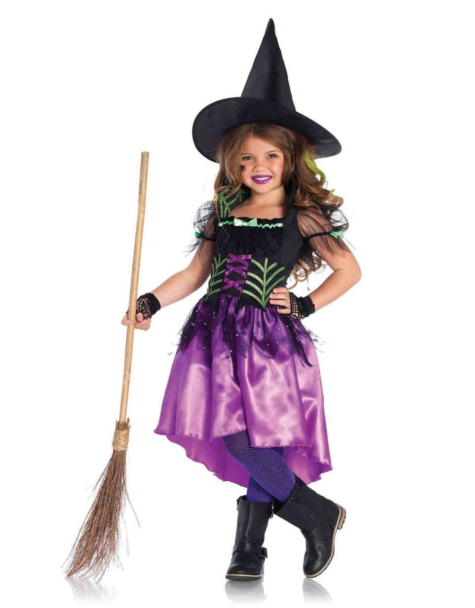 Leg Avenue Spiderweb Witch Kids Costume