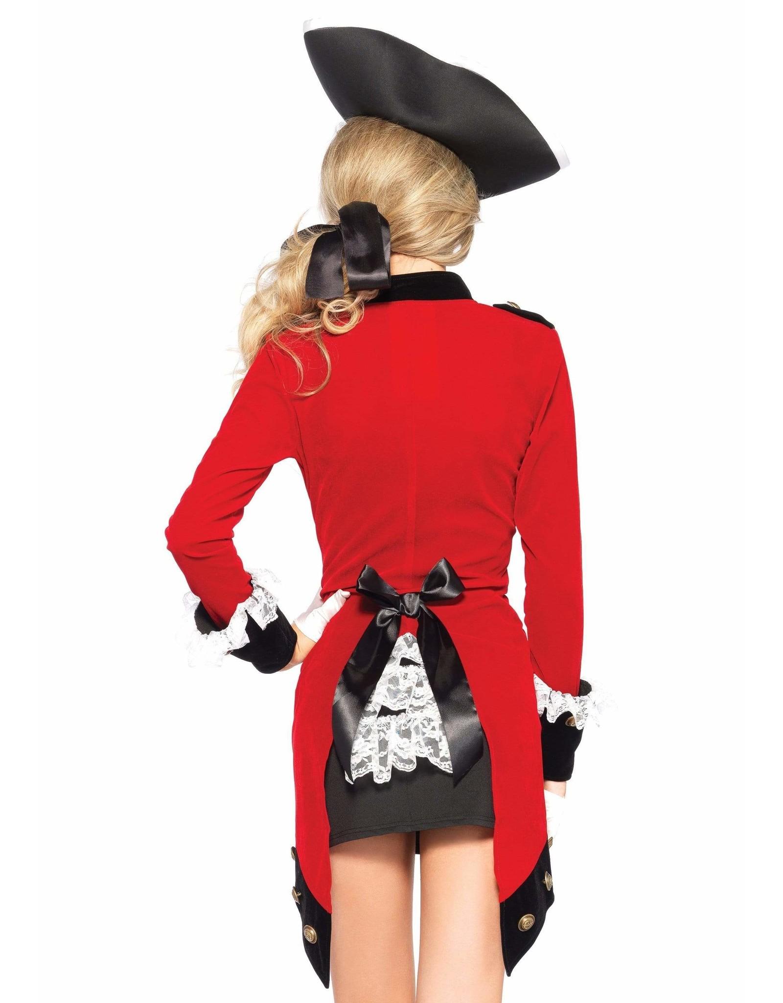 Leg Avenue Rebel Red Coat