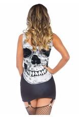 Leg Avenue Skull Garter Dress
